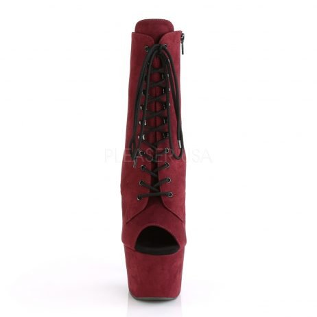ADORE-1021FS rood suede